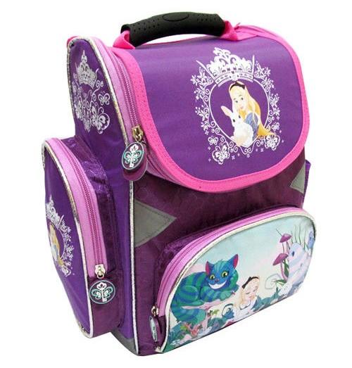 Школьный рюкзак-коробка «Алиса в стране чудес»