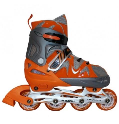 Детские роликовые коньки KEPAI F1-K09-OR