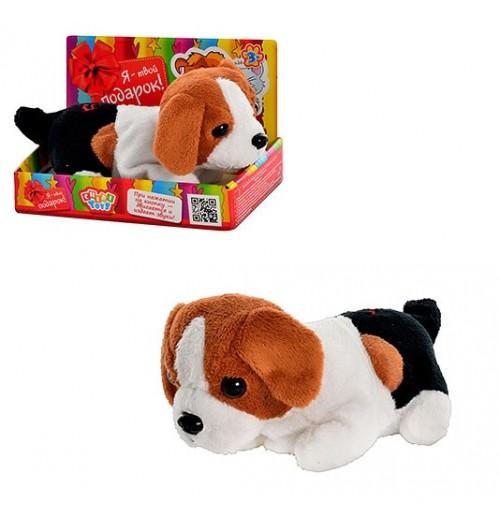 Мягкая игрушка собачка Chidi toys МР 0862