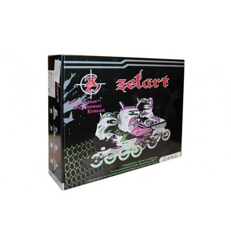 Раздвижные роликовые коньки Zelart Z-809B