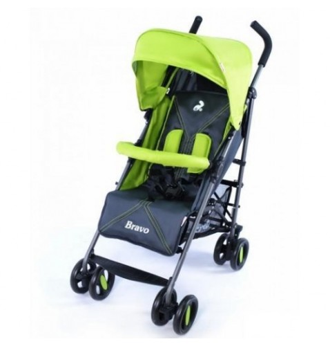 Коляска CARRELLO Bravo CRL-1404 GREY+GREEN