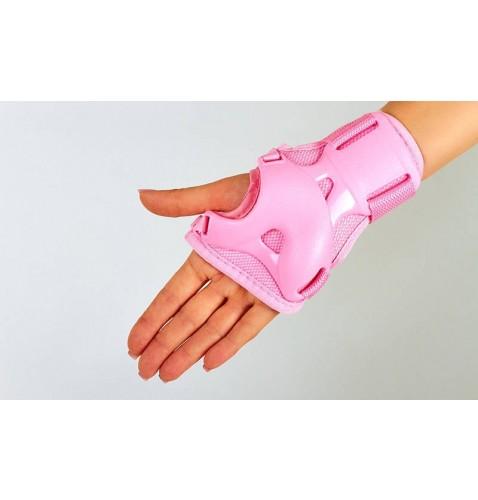 Детская защита наколенники, налокотникм, перчатки ZEL SK-4684P ENJOYMENT