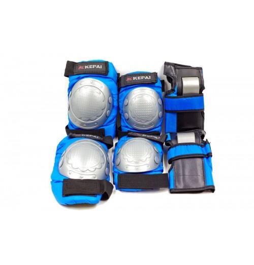 Защита детская спортивная наколенники, налокотникм, перчатки KEPAI LP-302