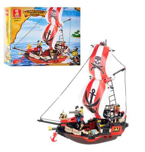 Конструктор SLUBAN Пираты, 379 дет,MMT-M38-B0127