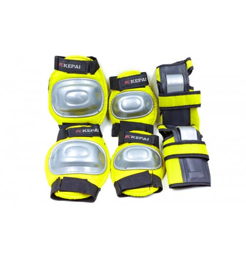 Детская защита наколенники, налокотникм, перчатки KEPAI LP-610