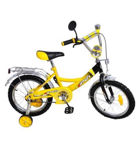 Велосипед двухколесный детский 16 дюймов Рrofi 1647 Y