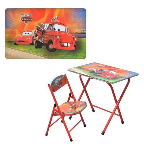Детский стол-парта DT 19-7 «Тачки»