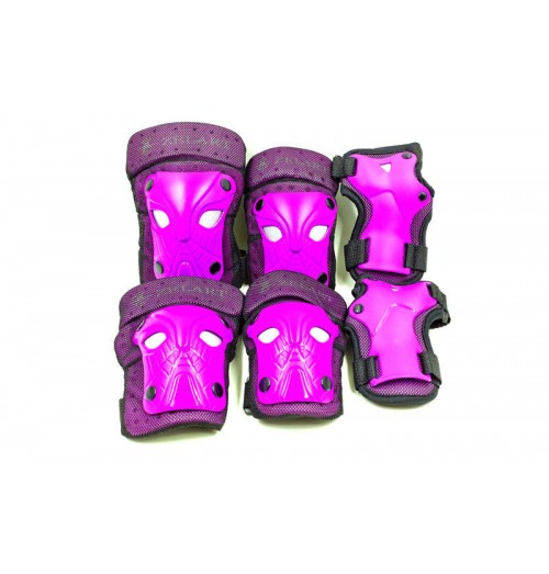 Защита спортивная наколенники, налокот., перчатки детская ZEL SK-3503V