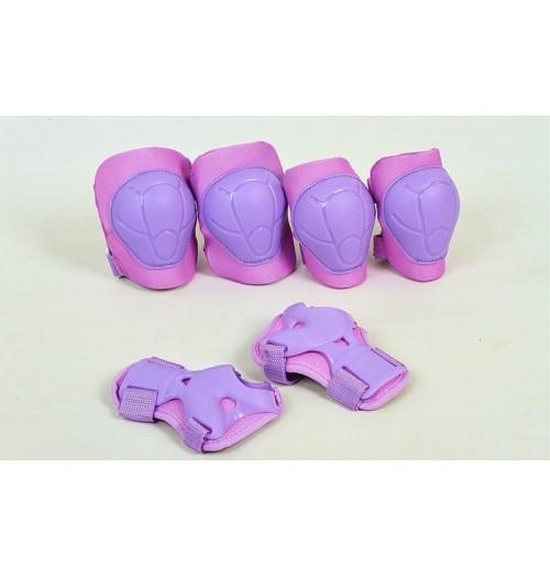 Детская защита наколенники, налокотникм, перчатки ZEL SK-4684V ENJOYMENT