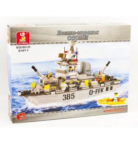 Конструктор SLUBAN Корабль MMT-M38-B0126