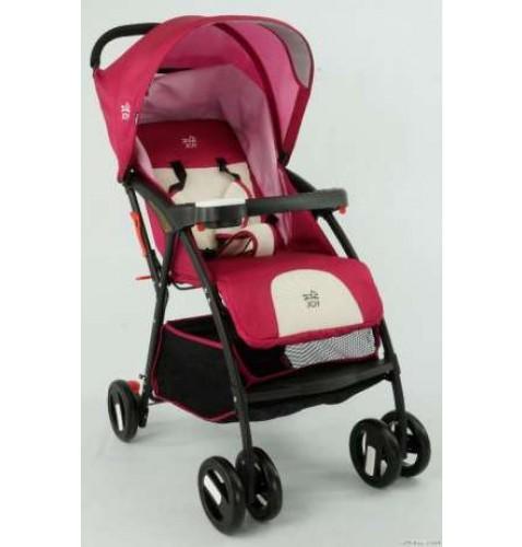 Коляска прогулочная JOY С 958 розовая