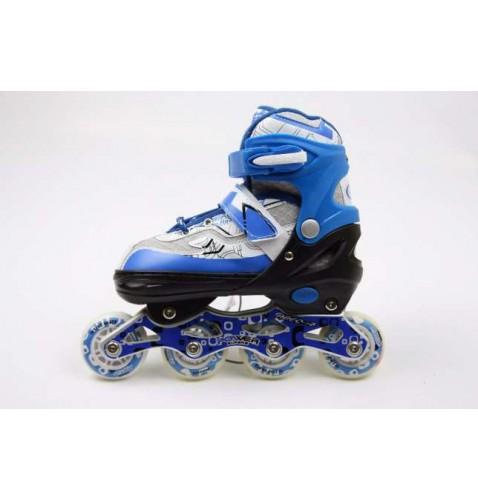 Детские роликовые коньки Power Sport Blue