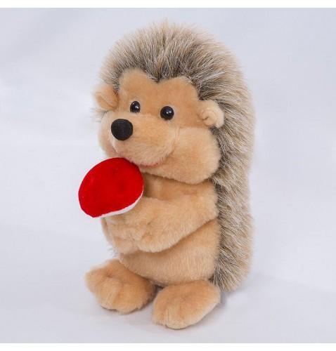Мягка игрушка ежик с грибочком ТМ Копиця