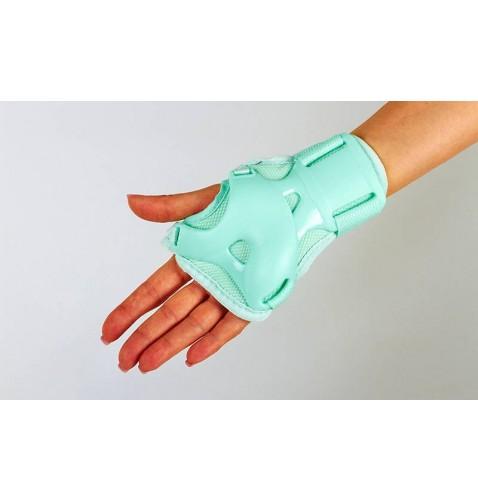 Детская защита наколенники, налокотникм, перчатки ZEL SK-4684G ENJOYMENT