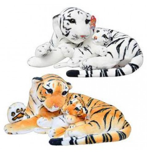 Мягкая игрушка Тигр с тигренком MMT-MP0308