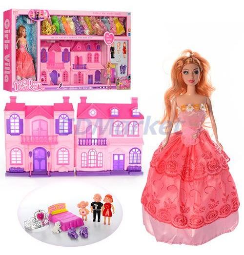 Кукла с домиком 668-7