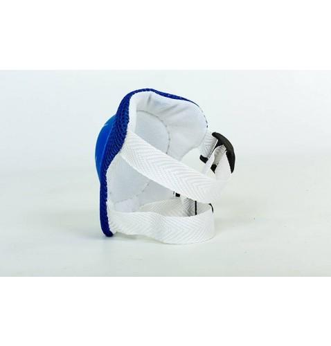 Детская защита (наколенники, налокот., перчатки) SK-4504 (M 5-8 лет, синяя, розовая, красная)