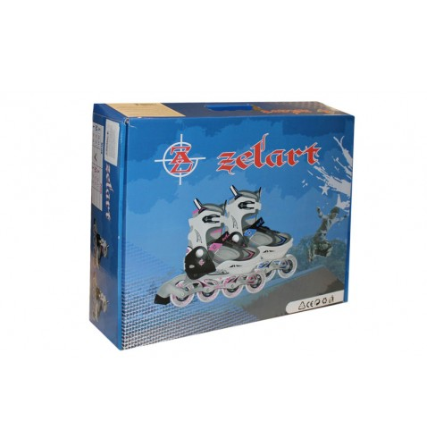 Детские раздвижные ролики Zelart Z-636P