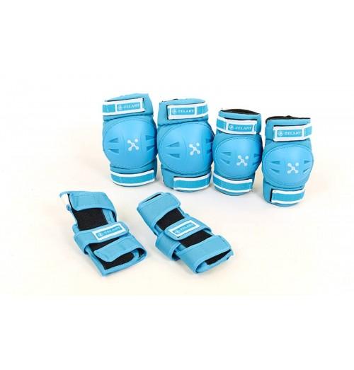 Защита спортивная, детская (налакотники, наколенники, перчатки) ZEL SK-3504B