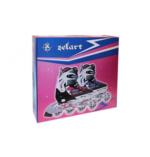 Раздвижные роликовые коньки Zelart Z-812B