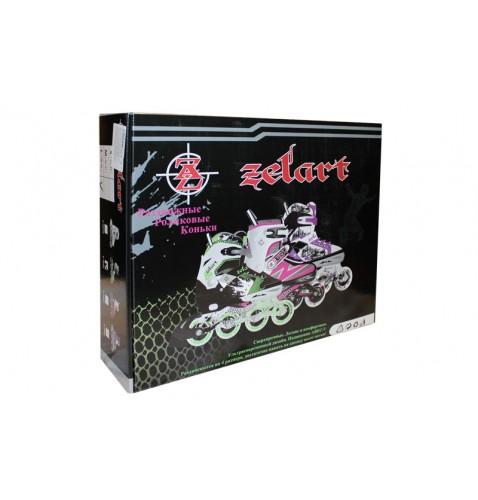 Раздвижные роликовые коньки Zelart Z-809G